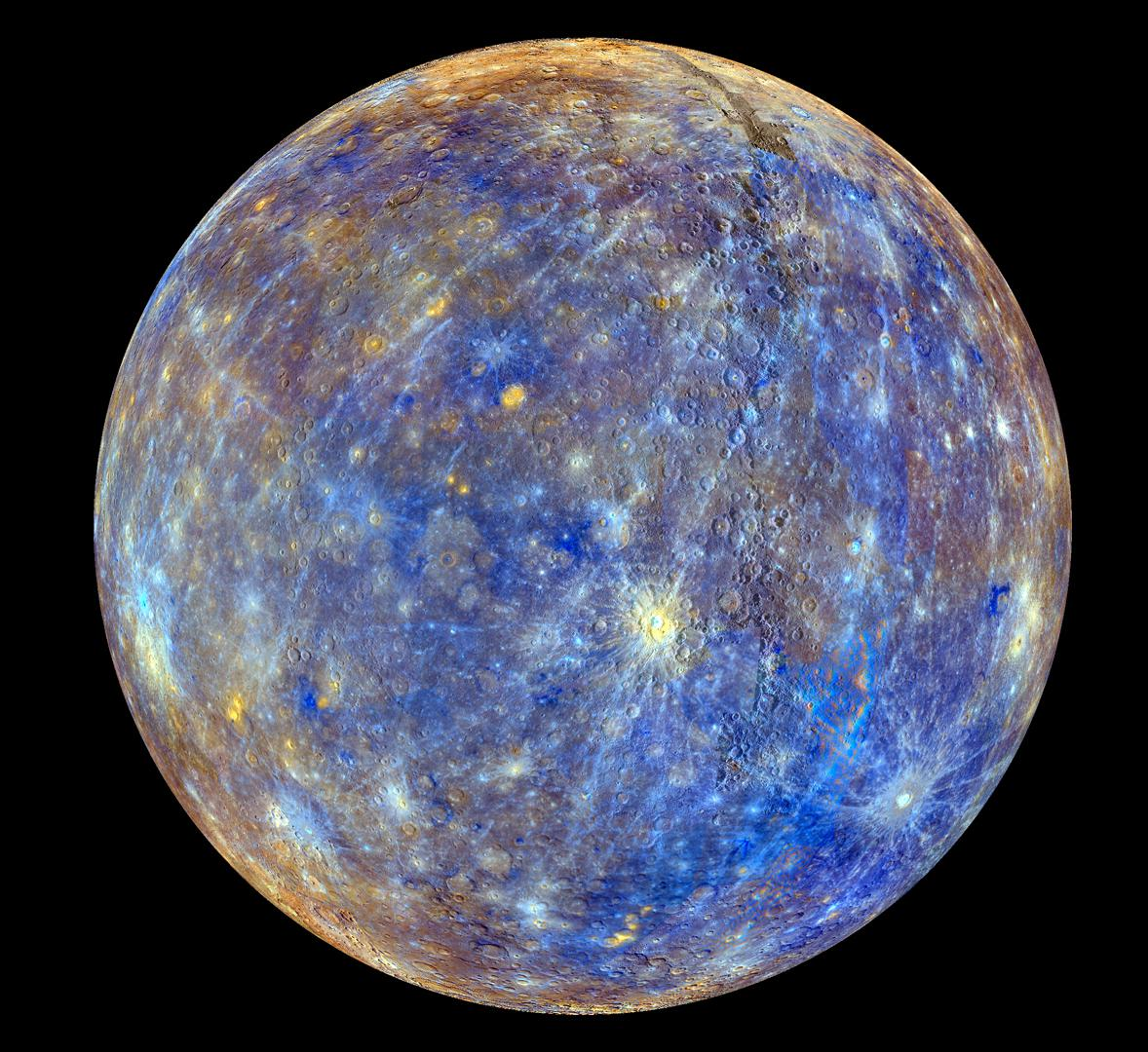 Mercury! NASA Mercury Messenger image via imgurvfA7gxI