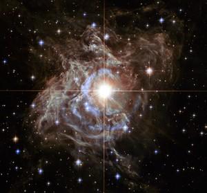 Cepheid Variable Star RS Puppis. Hubblesite