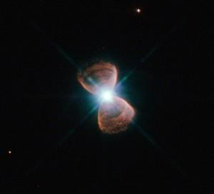 Bipolar planetary nebula PN Hb 12. NASA, ESA