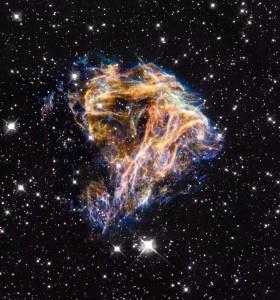 Celestial Fireworks. Hubble