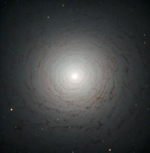Lenticular Galaxy galaxy NGC 524. NASA ESA