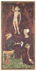 The Lovers. VI. Visconti-Sforza tarot