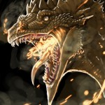 Dragon. Wikimedia. Linda_BlackWin24_Jansson