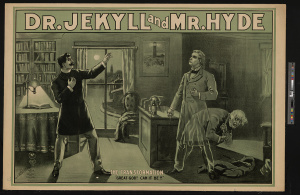 Dr. Jekyll & Mr. Hyde. Library of Congress print