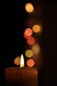 Vigil Candle. bokeh, CCO